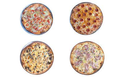 4 pizzas de Del Poble al 50% toda la semana en Uber Eats