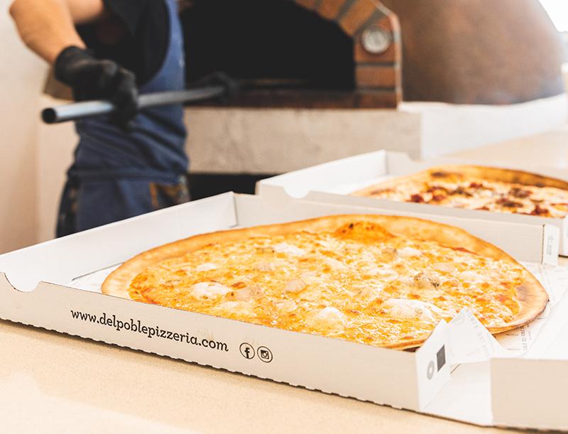 🍕 Sorteo de 25 pizzas para celebrar la tercera apertura de Del Poble en Valencia capital 🍕