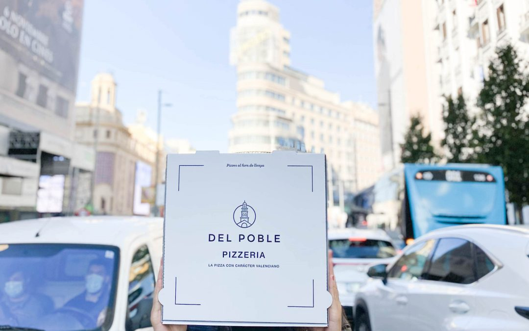🎉 Del Poble abre su primera pizzería en Madrid 🎉