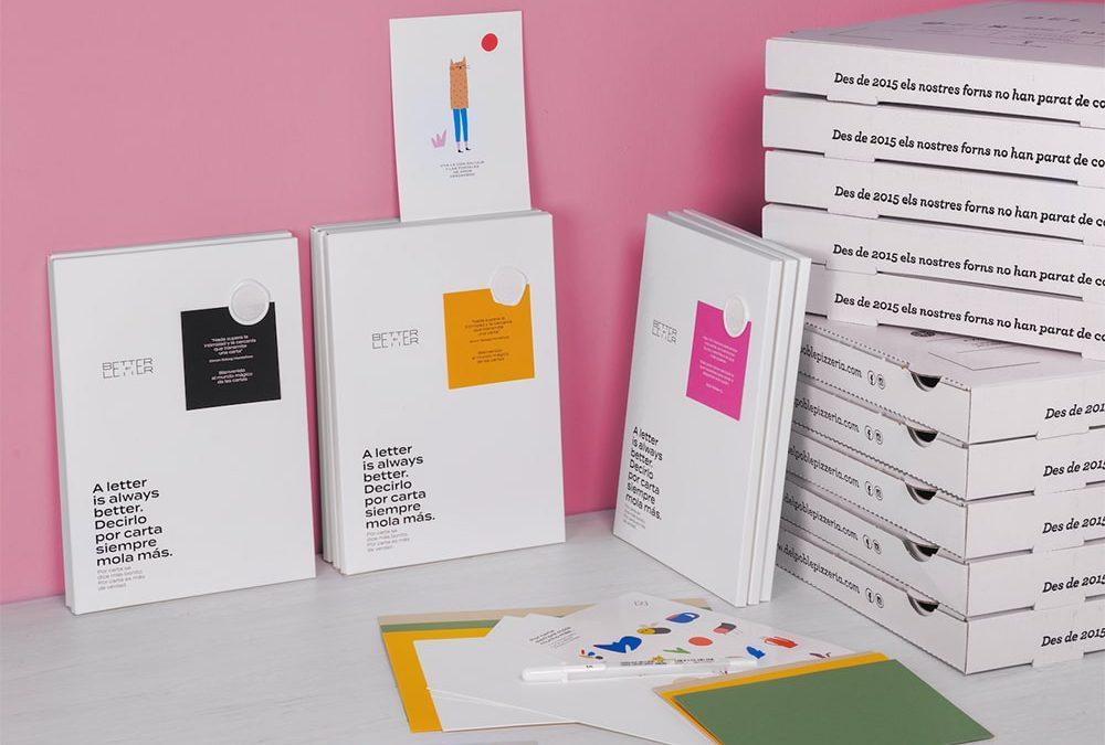 Postales de amor y un sorteo romántico con 'Better by Letter' para celebrar el finde del amor en Del Poble 💌