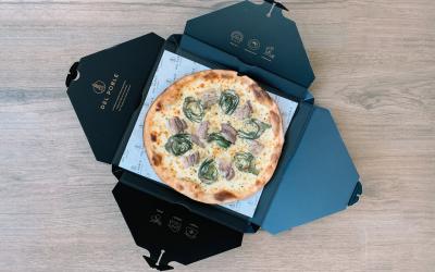 ✨ La Carxofeta ✨ Nuestra primera pizza de temporada 👨🏽🌾 presentada en un formato 'de categoría internacional'