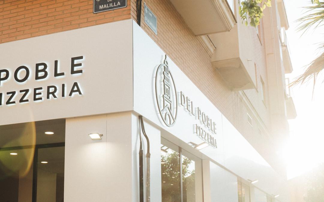 Del Poble abre su quinta pizzería en València capital 🔥🔥 🔥 ¡Hola barrio de Malilla!